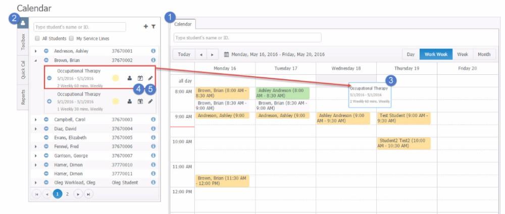 scheduler - AcceliTRACK3.0