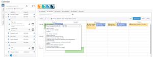 AcceliTRACK Calendar session details