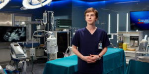 """""""the good doctor"""" actor Freddie Highmore"""