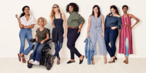 target ad with women of color and disabilities