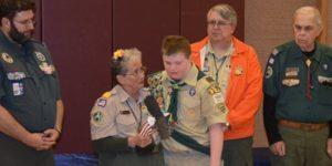 eagle scout with down syndrome